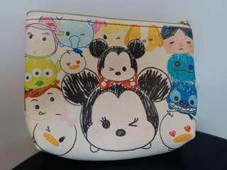 Disney Tsum Tsum Mickey 化妝袋 多用途袋 收納袋 文具袋 雜物袋