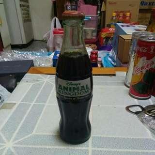 Coca Cola 可口可樂 - USA 美國 Disney Animal Kingdom 玻璃樽一枝