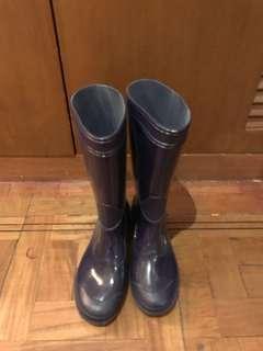 Camel rain boots