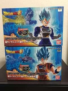 Figure Rise Standard Saiyan God Bundle