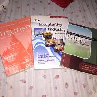 Tourism Textbooks (Take All) - For those taking up tourism course