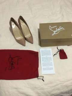 Christian Louboutin Pigalle Patent Calf 100 Size 39.5
