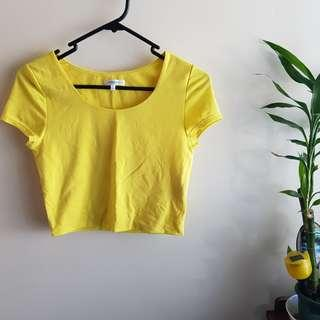 Valleygirl cropped top