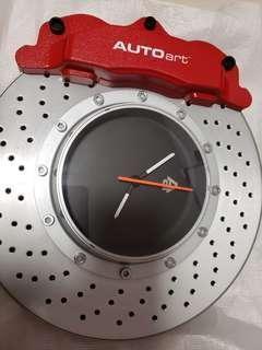 AUTOART 煞車卡鉗鐘