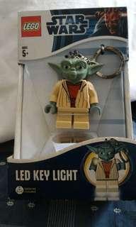星際大戰Star war尤達大師LED鑰匙全