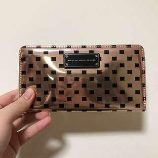 Marc By Marc Jacobs Rose Gold Wallet