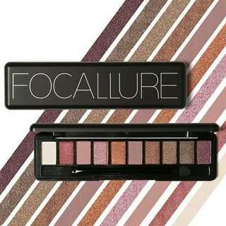 Focallure Eyeshadow 10 Warna Import