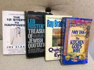 4pcs Pocket Books
