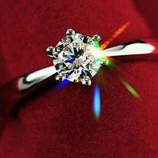 Wedding engagement ring for lady's