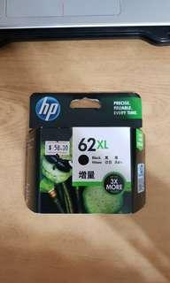 HP Printer Ink 62XL Black
