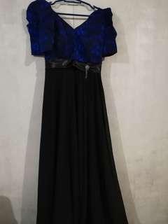 Custom made Filipiniana Gown Very Elegant Looks new