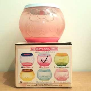 7-11 Sanrio characters LOCK & GO 圓咕Lock收納盒 My Melody Round Container