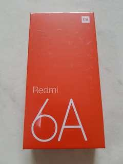 Xiaomi redmi 6A 16GB brand new ( black )