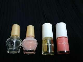 Nail polish 指甲油  mj/innisfree /nature republic