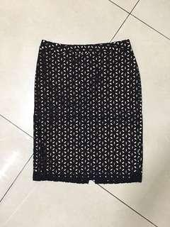 A Line Pencil Skirt