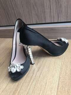 Miu miu studded heels