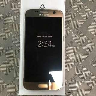 Samsung S7 gold (32 GB)