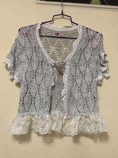 棉線外套,銀線,閃令令,9成半新,原價159