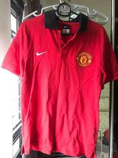 Authentic Manchester United Polo Tee