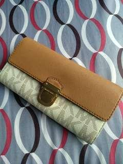 Authentic MK Long Wallet. Almost BN.