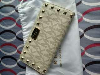 Authentic MK Long Wallet BN
