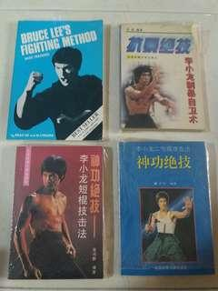 bruce lee collectible Books set of 4