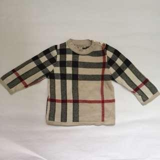 100% Authentic BURBERRY Baby Sweatshirt