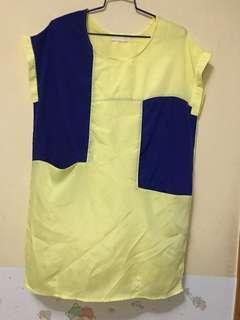 長身衫裙,滑料, 9成新
