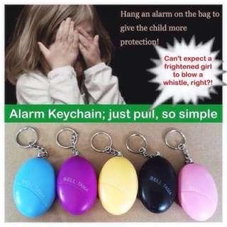 Alarm Keychain (instead of a whistle) [personal alarm self protection defence scare dogs safety anti-attack devices accessories; uncle anthony]
