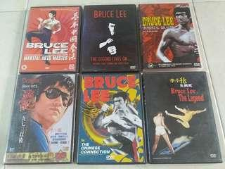Bruce Lee collectible dvd set of 6 - rare collection