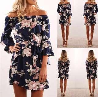 Elegant Bohemian Dress (For Pre-order)