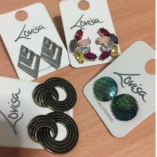 🚚 Lovisa earrings
