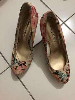 Christian Siriano floral shoes size 7