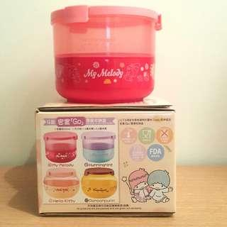 7-11 Sanrio characters LOCK & GO 密實Go雙層收納盒 My Melody Double-Layer Container
