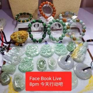 Face Book Live 8PM