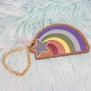 $100 off! Authentic COACH Rainbow 🌈 Leather Coin Purse