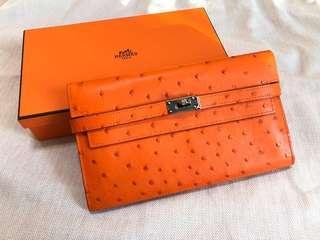 全新Hermes Portefeuille KELLY wallet