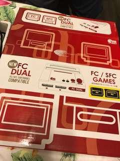 紅白機 連兩盒遊戲帶