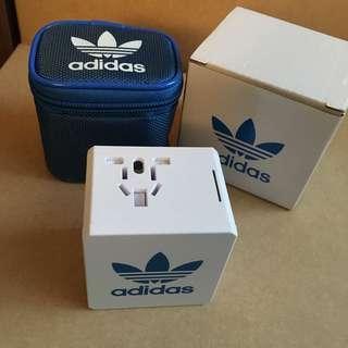 Adidas Originals travel adapter