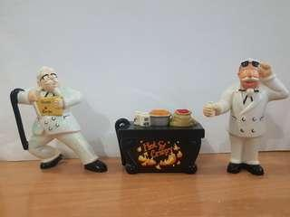 Mr Kentucky KFC figurines collectibles