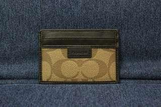 Coach Card Holder (Authentic)