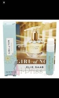 1ml Elie Saab Girl of Now EDP vial (tested once) #idotrades