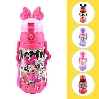 ✳️Free Gift✳️Disney Car Princess Sofia Kids Water Bottle Direct Drink 530ml