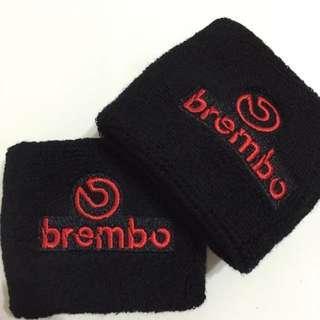 Brembo Black/Red Brake Reservoir Sock Cover
