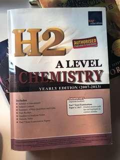 H2 ALevel Chemistry