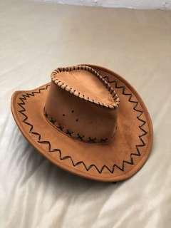 Leather cowboy hat from Australia