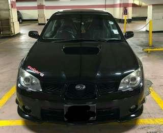 Subaru wrx ver9 2.5 manual turbo 2008