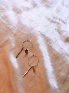 個性 簡約 幾何 造型耳環