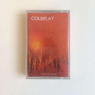 Kaset Coldplay - Acoustic Original
