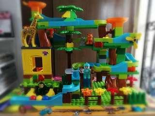 Animal Theme Building Blocks